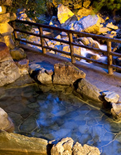 Listed by Characteristics  Accommodations where you can use a hot spring
